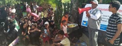 Humanitarian Response to Rohingya and Host Community