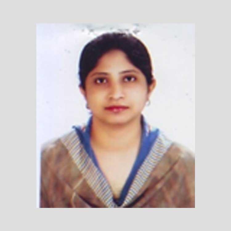 Ms.Saiqa Mazed, EC Member